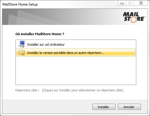 MailStoreHome SetupVersionPortable